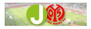 Juskys und 1. FSV Mainz 05 Logo